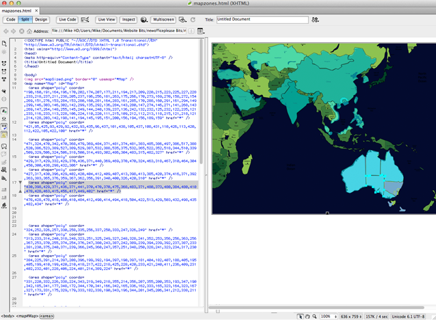 Editing the NewOfficeAsia.com hotspots