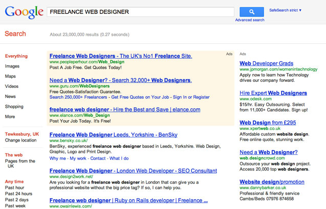 Qualities to look for in a good freelance web designer / developer