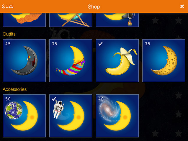 Sun to Moon Sleep Clock Moon Shop