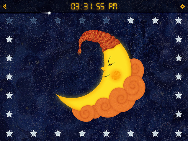 Sun to Moon Sleep Clock - A Kid's Sleep Trainer App for iOS and Android