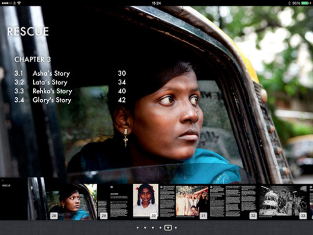 Taken, a New iBook by Hazel Thompson on Modern Day Slavery in Mumbai