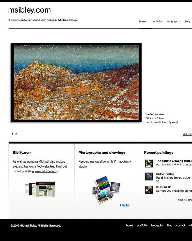 Michael SIbley Paintings - Home