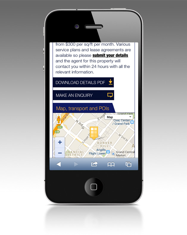 NewOfficeAmerica.com mobile website