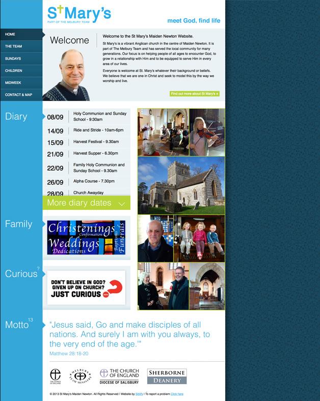 St Marys Maiden Newton Homepage