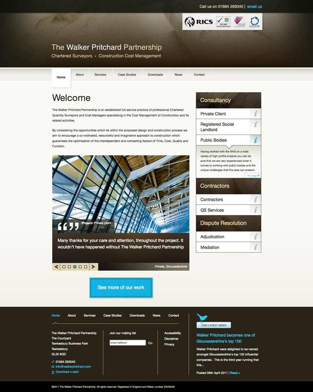 Walker Pritchard - Home page
