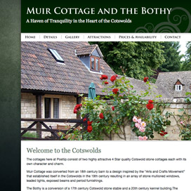 Muir Cottage and the Bothy